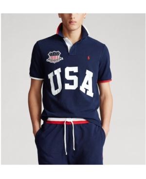 Polo Ralph Lauren Men's Classic Fit Usa Polo Shirt