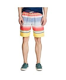 Men's Striped Mesh Short