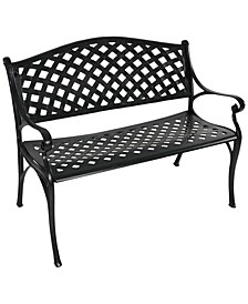 2-Person Seating Outdoor Patio Bench