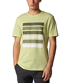 BOSS Men's Tee 2 Light Pastel Green T-Shirt