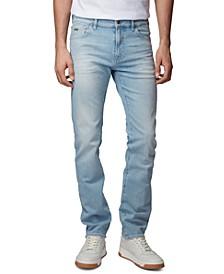 BOSS Men's Maine Light Pastel Blue Jeans