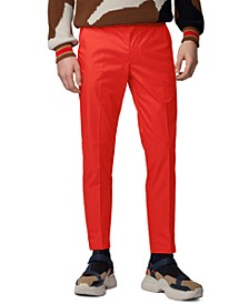 BOSS Men's Kaito1 Medium Red Pants