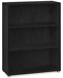 Lynwood Ready-to-Assemble 2-Shelf Bookcase, Quick Ship