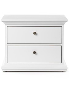Amelie Ready-to-Assemble 2 Drawer Nightstand, Direct Ships for $9.95