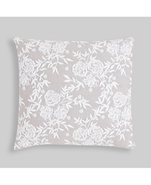 Hedaya Home Helen Matelasse Floral Throw Pillow