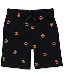 Big Boys Logo-Print Knit Shorts