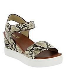 Women's Cayla-S Sneaker Bottom Wedges