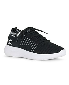 ENERGY Lace Up Sneaker with Contrast Trim