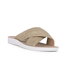 GOAL Slip On Cross Band Sandal