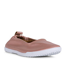 Danskin RELAX Ballet Flat with Scrunched Detail