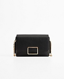 Buckled Cross-Body Bag