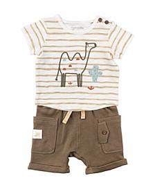 Baby Boy 2-Piece Short Set