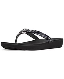 Women's Hoopla Tortoiseshell Toe-Thongs Sandal