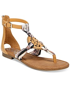 Cliff Medallion Gladiator Sandals