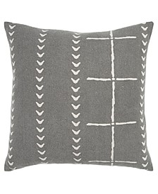 "Stripes Decorative Pillow Cover, 20"" x 20"""