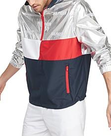Men's Jasper Quarter-Zip Colorblocked Sport Jacket
