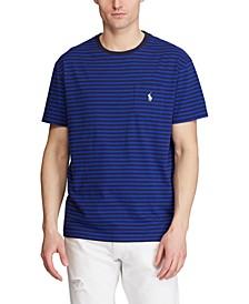 Men's Big & Tall Classic-Fit Striped T-Shirt
