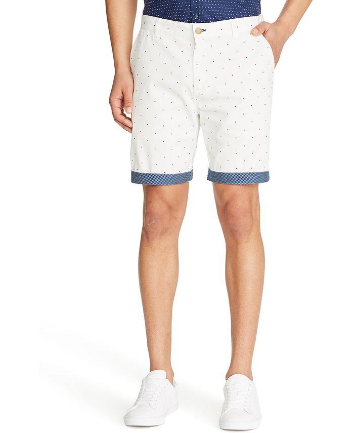 Tallia - Men's Slim-Fit Star Print Shorts