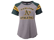 Oakland Athletics Women's Fly Out Raglan T-shirt
