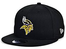 Little Boys Minnesota Vikings Draft 9FIFTY Snapback Cap
