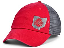 Ohio State Buckeyes Relax State Trucker Snapback Cap