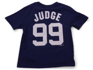 Nike New York Yankees Kids Aaron Judge Name and Number Player T-Shirt
