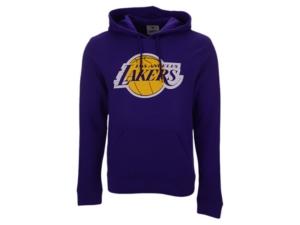 Majestic Los Angeles Lakers Men's Halpert Primary Logo Hoodie