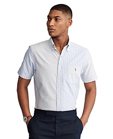 Men's Classic-Fit Striped Fun Shirt