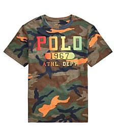 Big Boys Camo Cotton Jersey T-Shirt