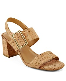 Essex Block Heel Dress Sandals
