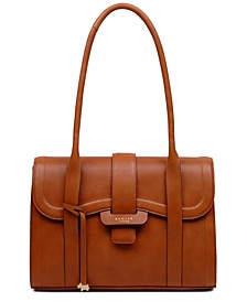 Devonport Mews Leather Shoulder Bag