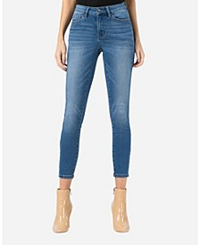 Mid Rise Super Soft Skinny Ankle Jeans