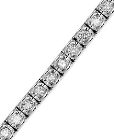 Diamond (2 ct. t.w.) Bracelet in 14k White Gold