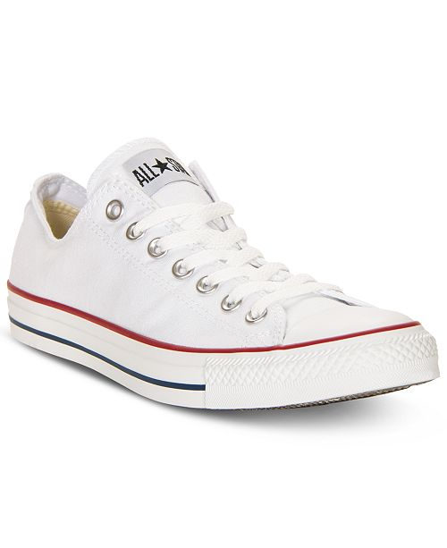 the latest 099e2 64b68 ... Converse Men s Chuck Taylor Low Top Sneakers from Finish Line ...