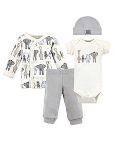 Boys and Girls 4-Piece Set