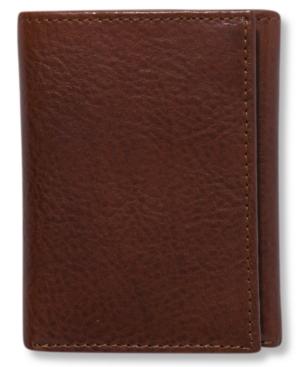 Tasso Elba Dakota Italian Leather Trifold Wallet