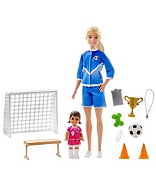 Soccer Player Doll