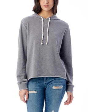Day Off Burnout French Women's Terry Hoodie