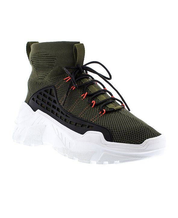 French Connection Men's Beau High Top Sneaker