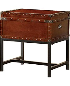 Vannoy Cherry Trunk End Table