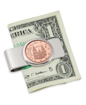 Spain Obradoiro 5 Cent Euro Coin Money Clip