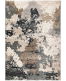 "Nirvana Chindit Gray 7'10"" x 10'10"" Area Rug"