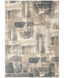 "Nirvana Angora Gray 7'10"" x 10'10"" Area Rug"
