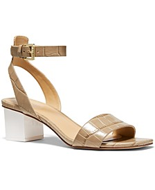 Petra Ankle-Strap Sandals