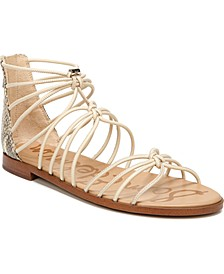 Emi Gladiator Flat Sandals