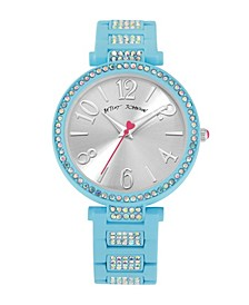 Women's Stone Link Blue Bracelet Watch 36mm