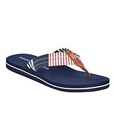 Calene Americana Flip-Flop Sandals