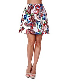 Women's Paisley Heidi Skirt