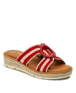 Bliss Posture Plus+ Wedge Sandal Slides Women's Shoes