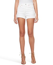 Infinite High-Waist Denim Shorts